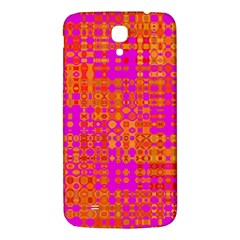 Pink Orange Bright Abstract Samsung Galaxy Mega I9200 Hardshell Back Case