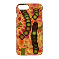Abstract Background Digital Green Apple Iphone 7 Plus Hardshell Case