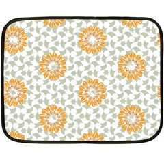 Stamping Pattern Fashion Background Double Sided Fleece Blanket (mini)