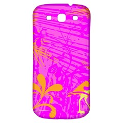 Spring Tropical Floral Palm Bird Samsung Galaxy S3 S Iii Classic Hardshell Back Case by Nexatart