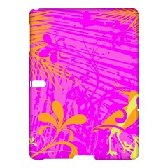 Spring Tropical Floral Palm Bird Samsung Galaxy Tab S (10 5 ) Hardshell Case  by Nexatart