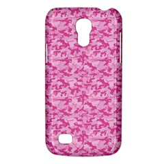 Shocking Pink Camouflage Pattern Galaxy S4 Mini by tarastyle