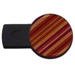 Stripes Course Texture Background Usb Flash Drive Round (2 Gb) by Nexatart