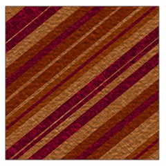 Stripes Course Texture Background Large Satin Scarf (square) by Nexatart