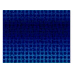 Blue Dot Rectangular Jigsaw Puzzl by PhotoNOLA