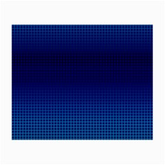 Blue Dot Small Glasses Cloth (2 Side) by PhotoNOLA