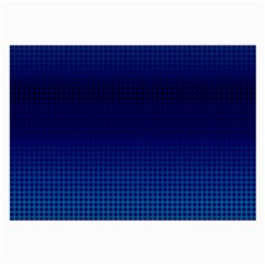 Blue Dot Large Glasses Cloth (2 Side) by PhotoNOLA