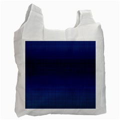 Blue Dot Recycle Bag (one Side) by PhotoNOLA