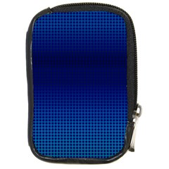 Blue Dot Compact Camera Cases by PhotoNOLA