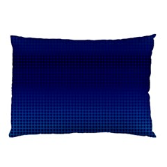 Blue Dot Pillow Case (two Sides) by PhotoNOLA