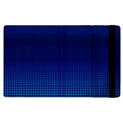 Blue Dot Apple Ipad 2 Flip Case by PhotoNOLA