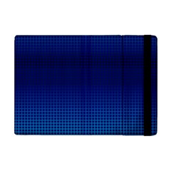 Blue Dot Apple Ipad Mini Flip Case by PhotoNOLA