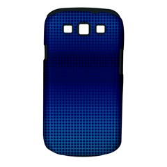Blue Dot Samsung Galaxy S Iii Classic Hardshell Case (pc+silicone) by PhotoNOLA