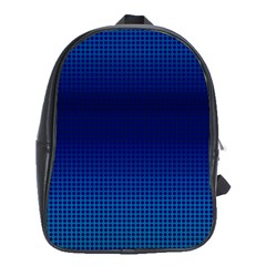 Blue Dot School Bags (xl)  by PhotoNOLA
