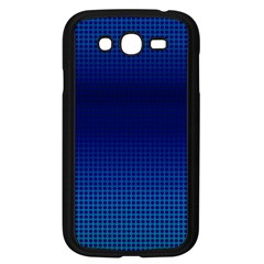 Blue Dot Samsung Galaxy Grand Duos I9082 Case (black) by PhotoNOLA