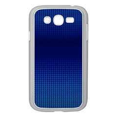 Blue Dot Samsung Galaxy Grand Duos I9082 Case (white) by PhotoNOLA