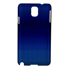 Blue Dot Samsung Galaxy Note 3 N9005 Hardshell Case by PhotoNOLA