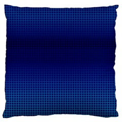 Blue Dot Standard Flano Cushion Case (two Sides) by PhotoNOLA