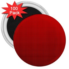 Redc 3  Magnets (100 Pack) by PhotoNOLA