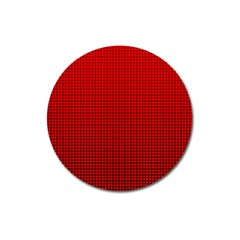 Redc Magnet 3  (round) by PhotoNOLA