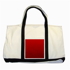 Redc Two Tone Tote Bag by PhotoNOLA