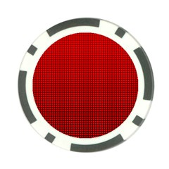 Redc Poker Chip Card Guard by PhotoNOLA