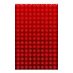 Redc Shower Curtain 48  X 72  (small)  by PhotoNOLA