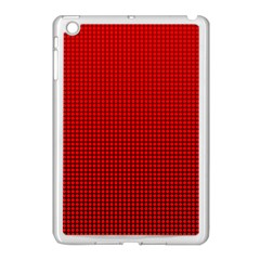 Redc Apple Ipad Mini Case (white) by PhotoNOLA
