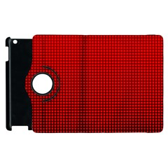 Redc Apple Ipad 3/4 Flip 360 Case by PhotoNOLA