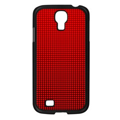 Redc Samsung Galaxy S4 I9500/ I9505 Case (black) by PhotoNOLA