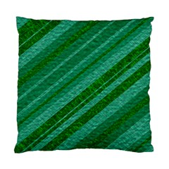 Stripes Course Texture Background Standard Cushion Case (two Sides) by Nexatart