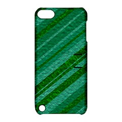 Stripes Course Texture Background Apple Ipod Touch 5 Hardshell Case With Stand by Nexatart