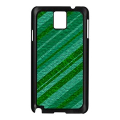Stripes Course Texture Background Samsung Galaxy Note 3 N9005 Case (black) by Nexatart