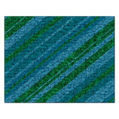 Stripes Course Texture Background Rectangular Jigsaw Puzzl by Nexatart