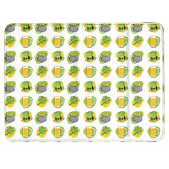 St Patrick S Day Background Symbols Samsung Galaxy Tab 7  P1000 Flip Case