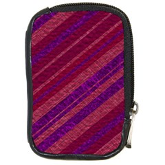 Stripes Course Texture Background Compact Camera Cases by Nexatart