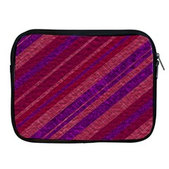 Stripes Course Texture Background Apple Ipad 2/3/4 Zipper Cases