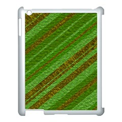 Stripes Course Texture Background Apple Ipad 3/4 Case (white)