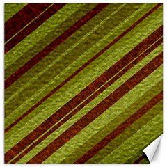 Stripes Course Texture Background Canvas 12  X 12   by Nexatart