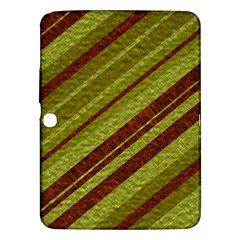 Stripes Course Texture Background Samsung Galaxy Tab 3 (10 1 ) P5200 Hardshell Case