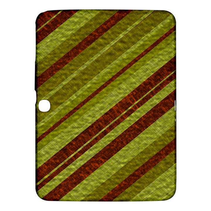 Stripes Course Texture Background Samsung Galaxy Tab 3 (10.1 ) P5200 Hardshell Case
