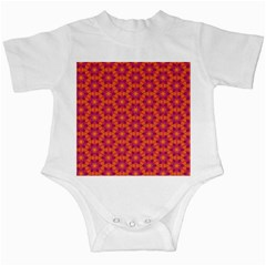 Pattern Abstract Floral Bright Infant Creepers