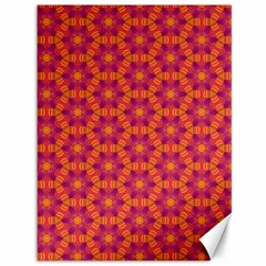 Pattern Abstract Floral Bright Canvas 36  X 48