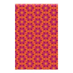 Pattern Abstract Floral Bright Shower Curtain 48  X 72  (small)  by Nexatart