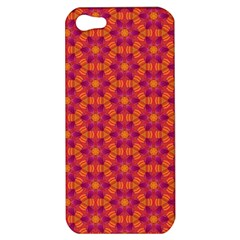 Pattern Abstract Floral Bright Apple Iphone 5 Hardshell Case
