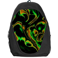 Glowing Fractal A Backpack Bag by Fractalworld