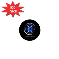 Power Core 1  Mini Button (100 Pack)