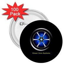 Power Core 2 25  Button (100 Pack)