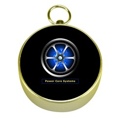 Power Core Gold Compass