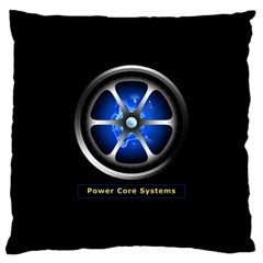 Power Core Large Cushion Case (one Side) by linceazul